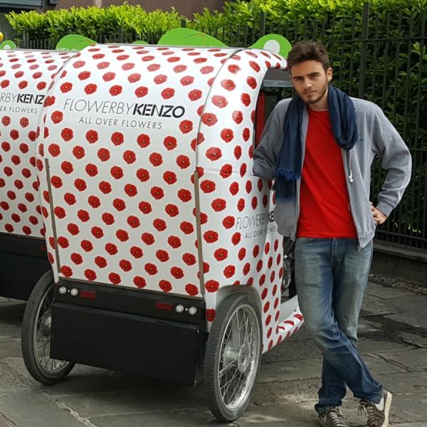 Kenzo Rickshaw Risciò Milano