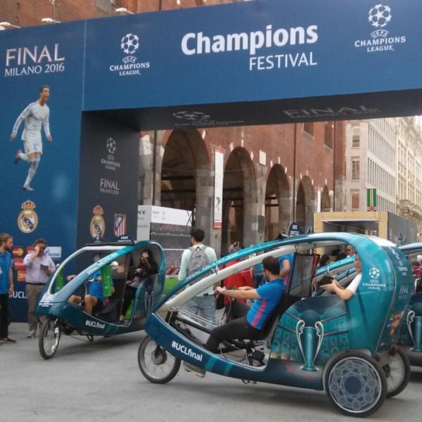 Uefa Rickshaw Risciò Milano