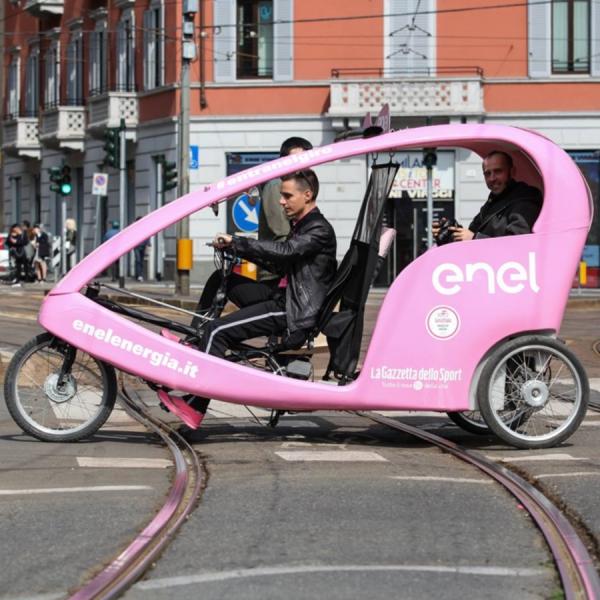 enelenergia Rickshaw Risciò Milano