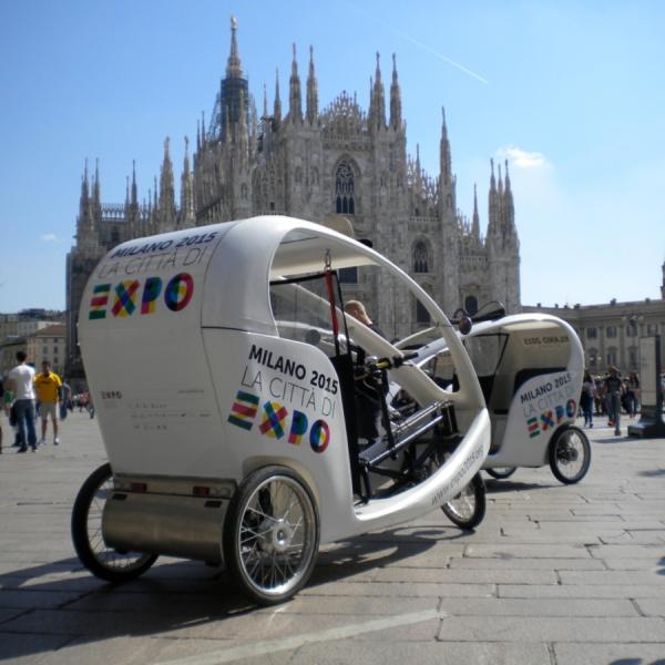 expo Rickshaw Risciò Milano