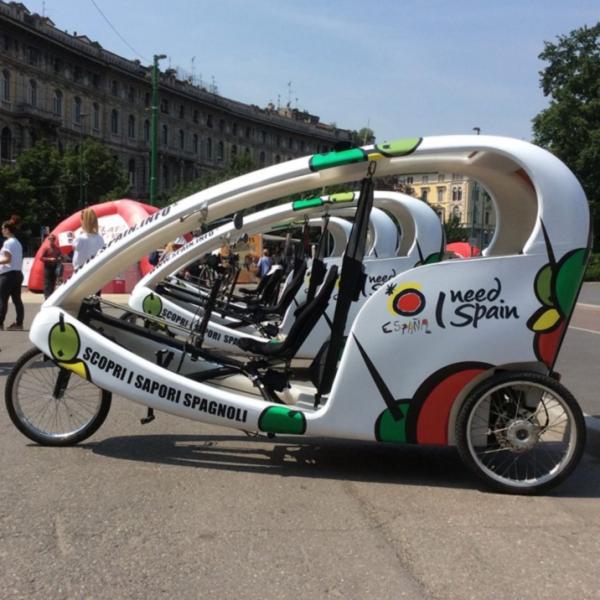 Espana Rickshaw Risciò Milano