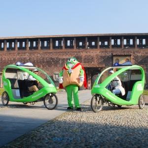 American Pistachios Veloleo Rickshaw risciò