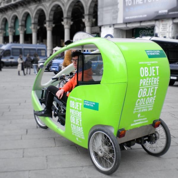 Benetton Veloleo Rickshaw risciò
