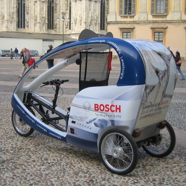 Bosch Veloleo Rickshaw risciò