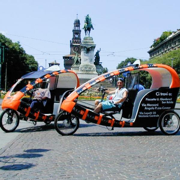 Brek Veloleo Rickshaw risciò