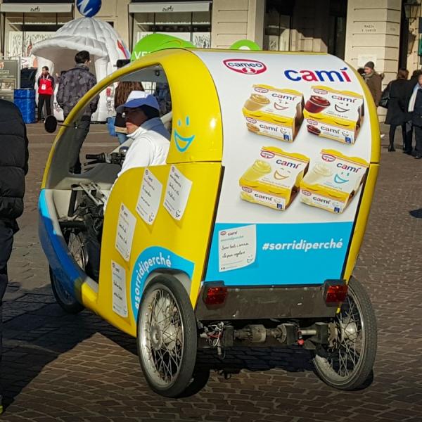 Cameo Veloleo Rickshaw risciò