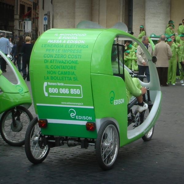 Edison Veloleo Rickshaw risciò