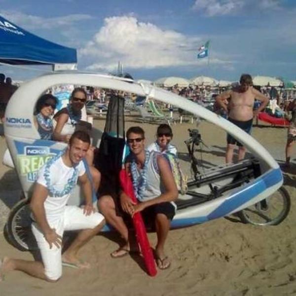 Nokia Veloleo Rickshaw risciò