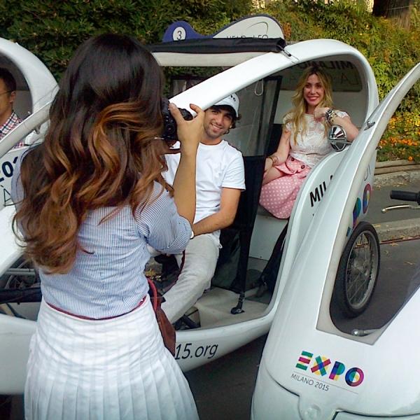 EXPO Veloleo Rickshaw risciò