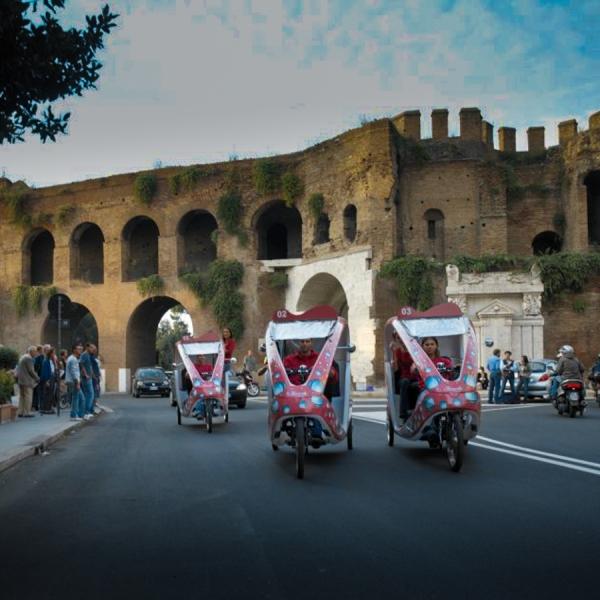 Ferrarelle Veloleo Rickshaw risciò