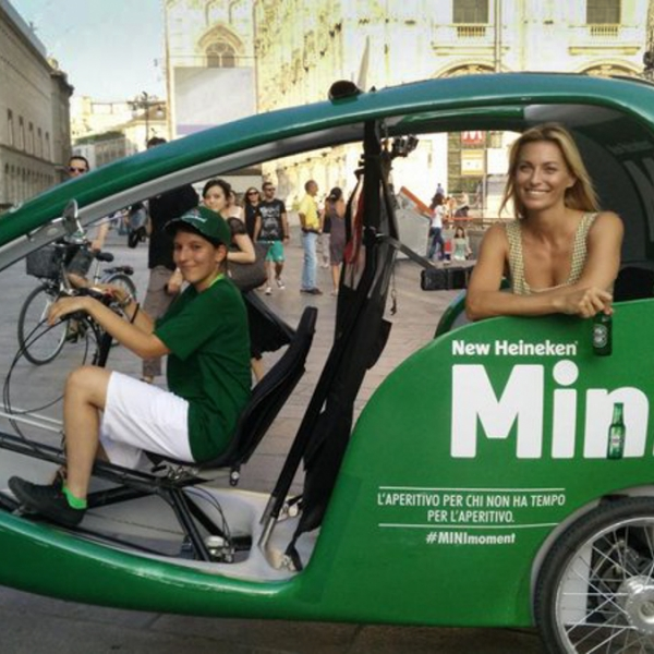 Heineken Veloleo Rickshaw risciò