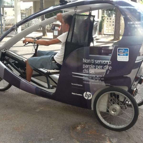 HP Veloleo Rickshaw risciò