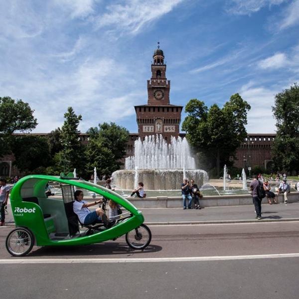 iRobot Veloleo Rickshaw risciò