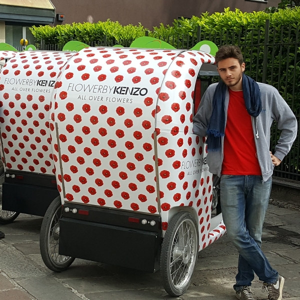 Kenzo Veloleo Rickshaw risciò