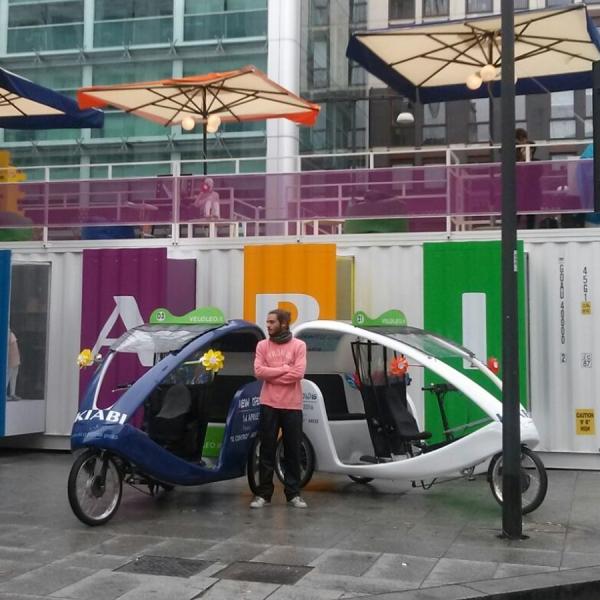 Kiabi Veloleo Rickshaw risciò