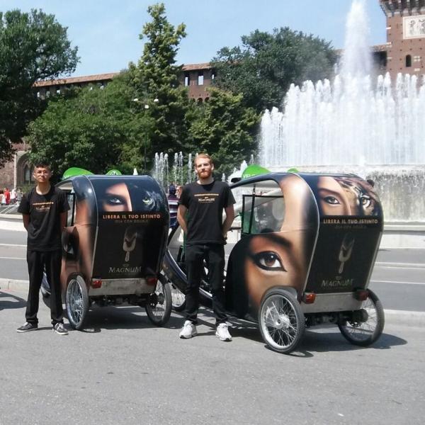 Magnum Veloleo Rickshaw risciò