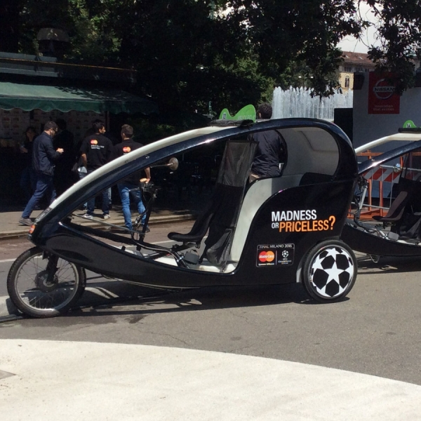Mastercard Veloleo Rickshaw risciò