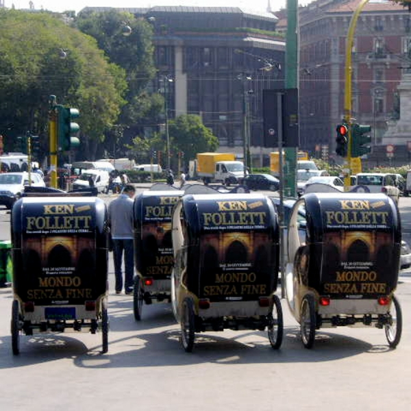 Mondadori Veloleo Rickshaw risciò