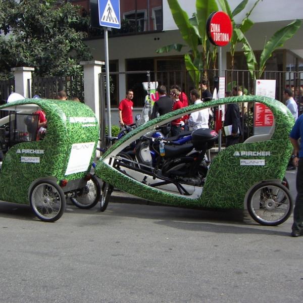 Pircher Veloleo rickshaw risciò