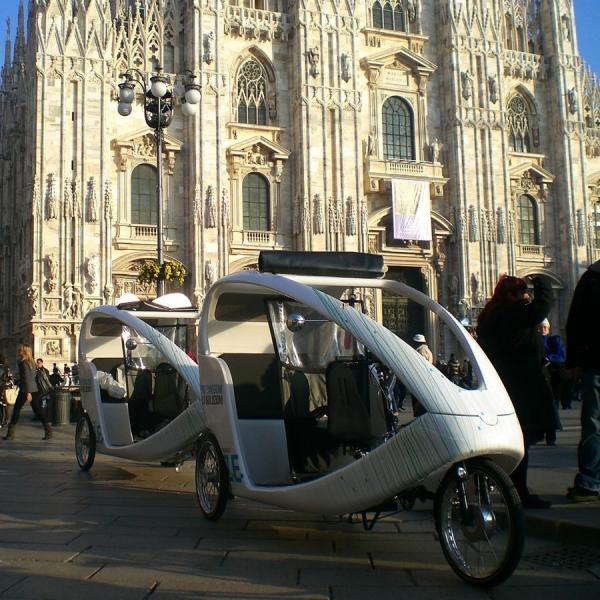 Renault Veloleo Rickshaw risciò
