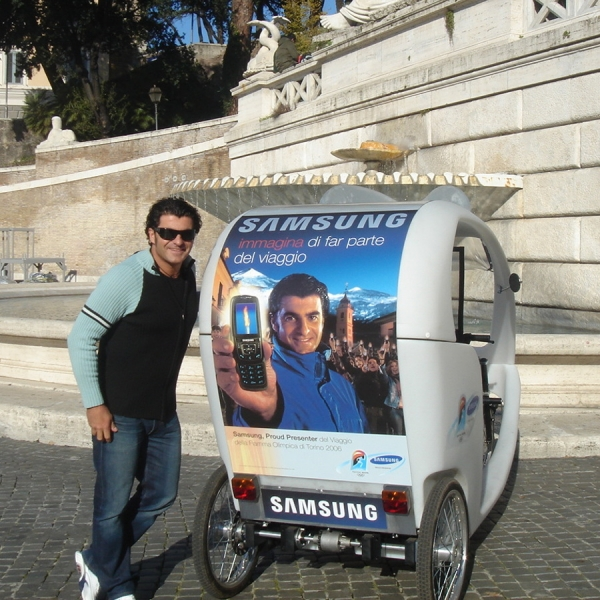 Samsung Milano Veloleo Rickshaw risciò