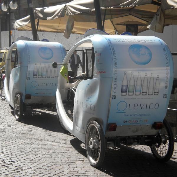 Acqua Levico Veloleo Rickshaw risciò