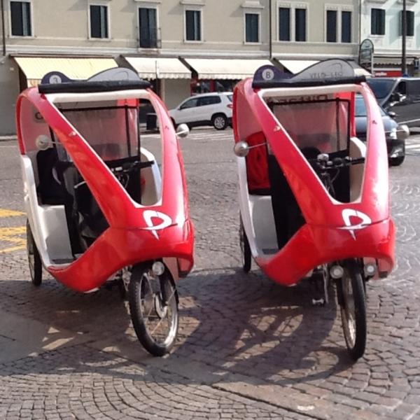 Pittarello Veloleo Rickshaw risciò