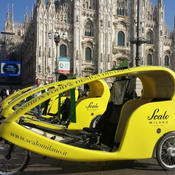 Scalo Milano Veloleo Rickshaw risciò