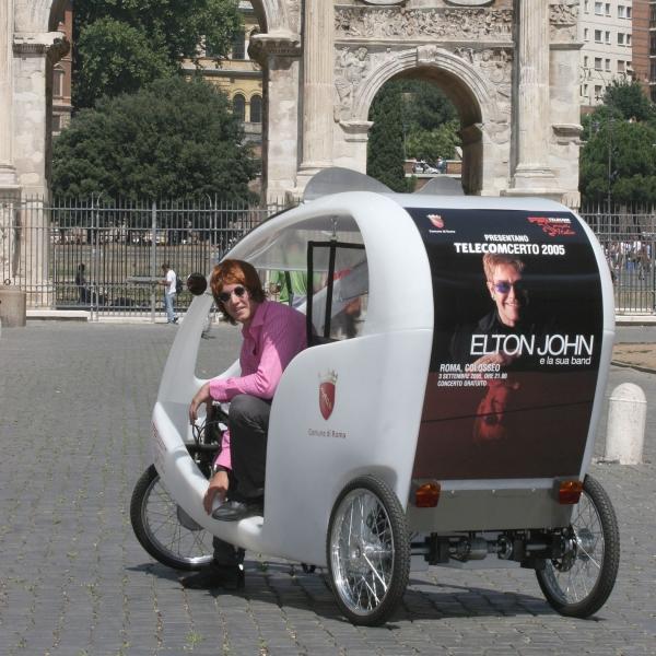 Telecom Veloleo Rickshaw risciò