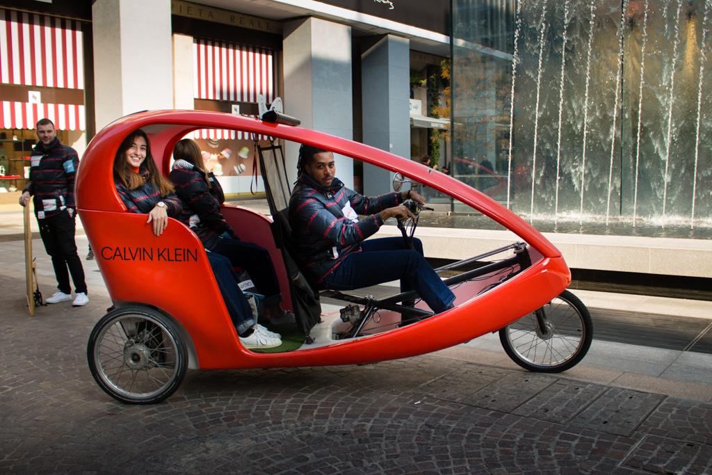 Calvin Klein Veloleo Rickshaw risciò
