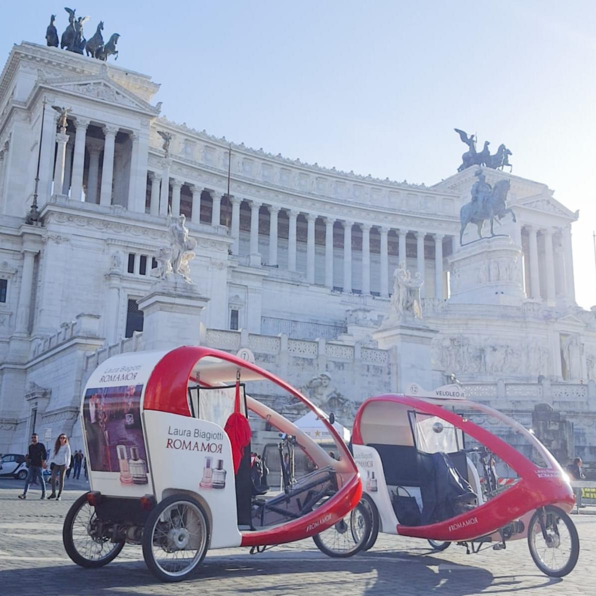 romamor Laura Biagiotti Veloleo Rickshaw risciò
