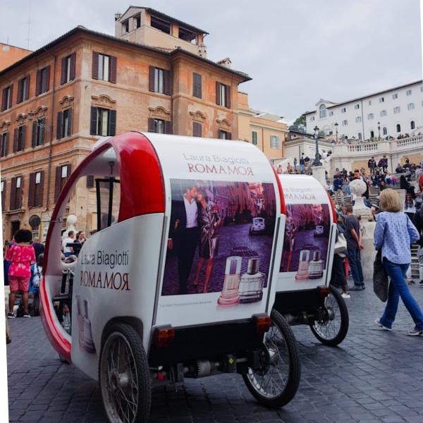 Romamor Veloleo Rickshaw risciò