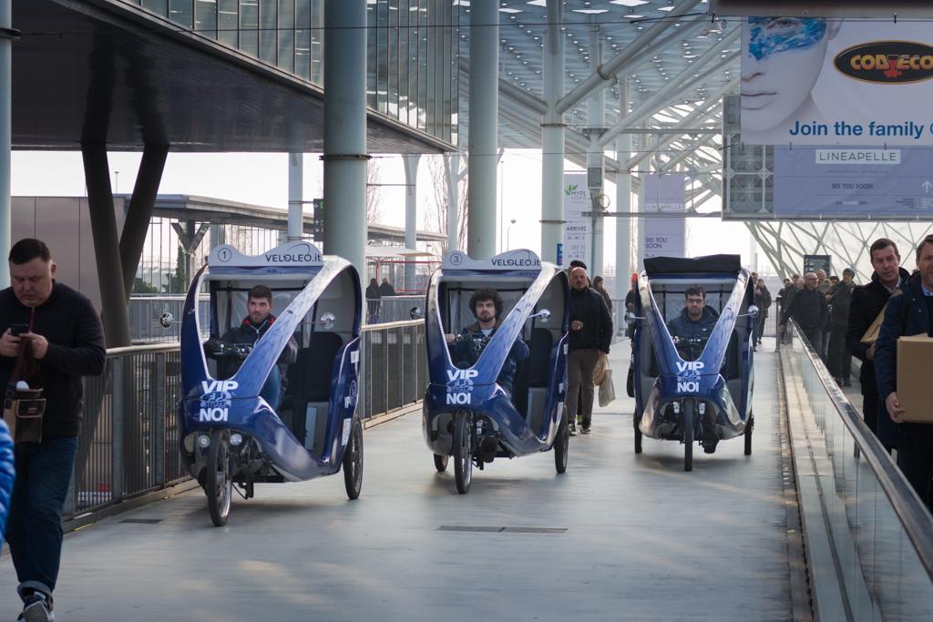Lineapelle Simac Ri-Show Rickshaw