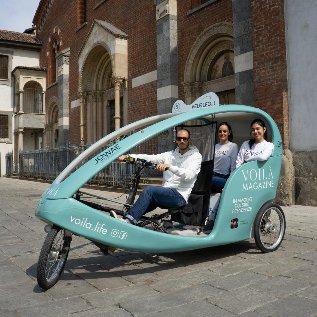 Voilà Ri-Show rickshaw risciò