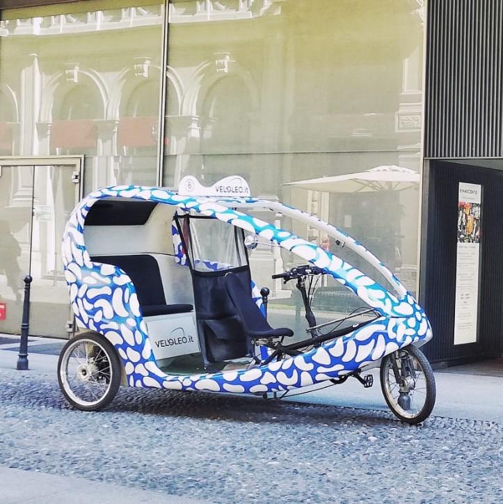 Louis Vuitton con i VeloLeo di Ri-Show
