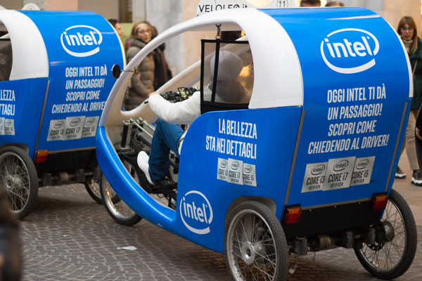 Campagna Intel - Ri-Show VeloLeo